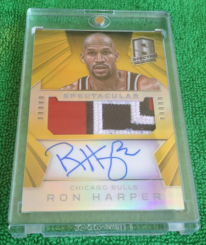 2014-15 Panini Spectra Spectacular Swatches Gold Prizm #SS-RH  5/10 | by HarperCollector9