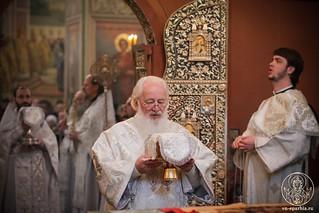 Литургия в Иверском монастыре 380
