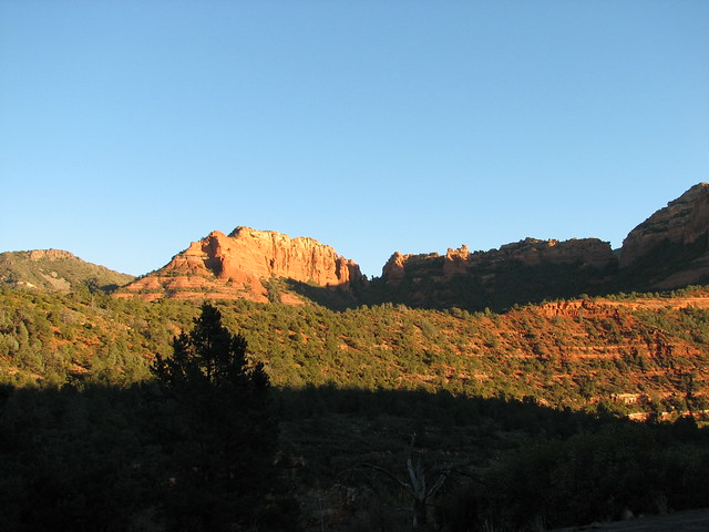Our first view of Sedona