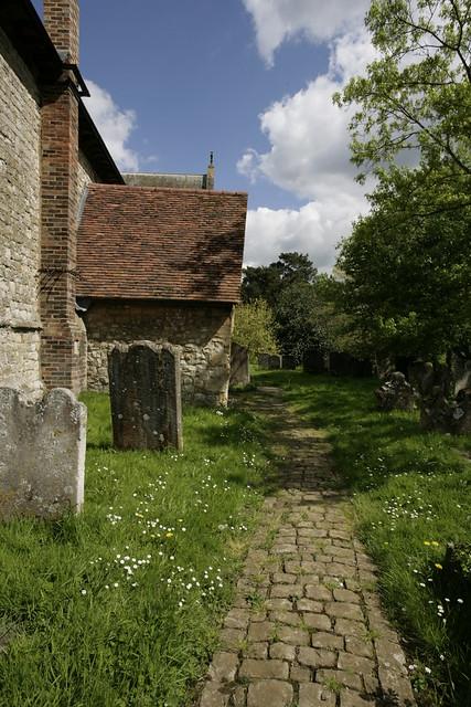 church path,yalding - kent.