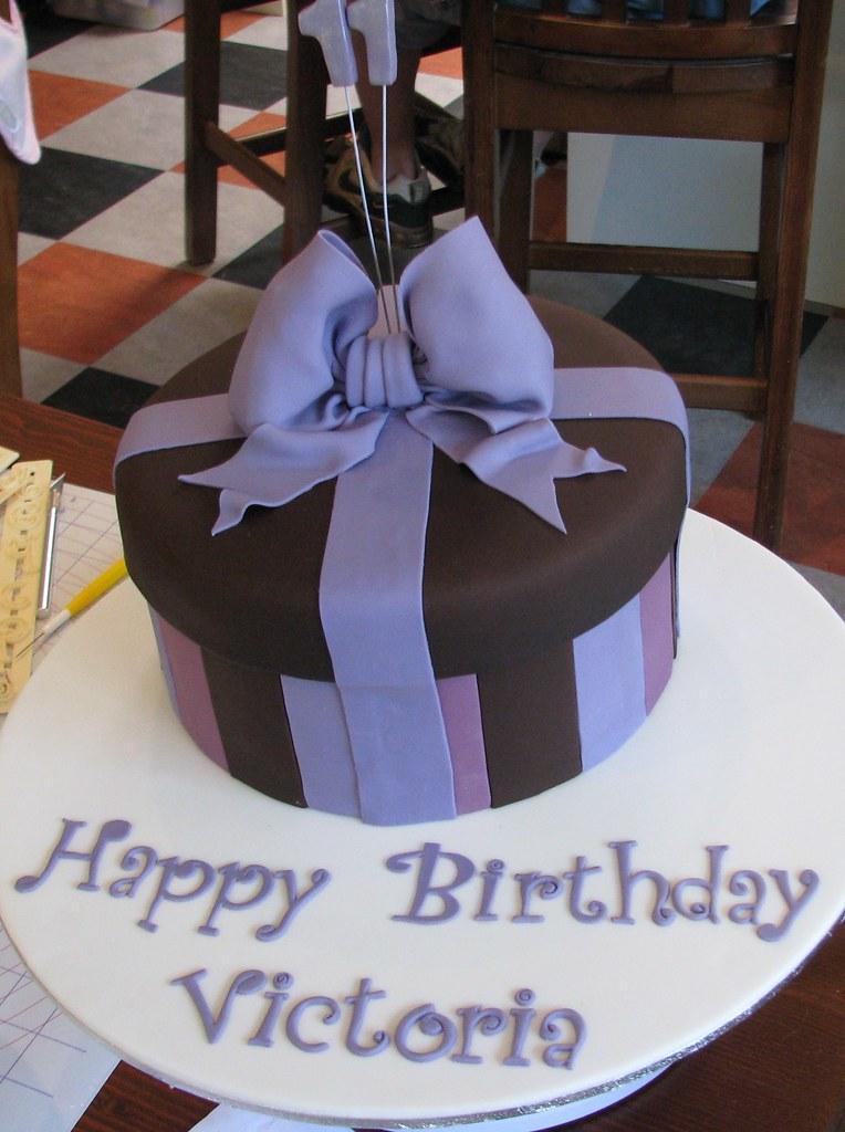 Fantastic Victorias Birthday Cake Melissa Edwards Flickr Personalised Birthday Cards Beptaeletsinfo