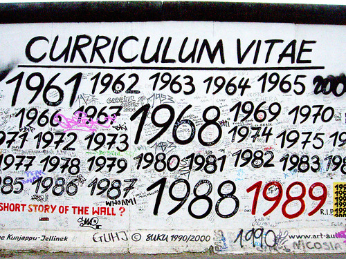Curriculum Vitae Susanne Kunjappu-Jellinek, West-Berlin September 1998 | by BerlinAndOut