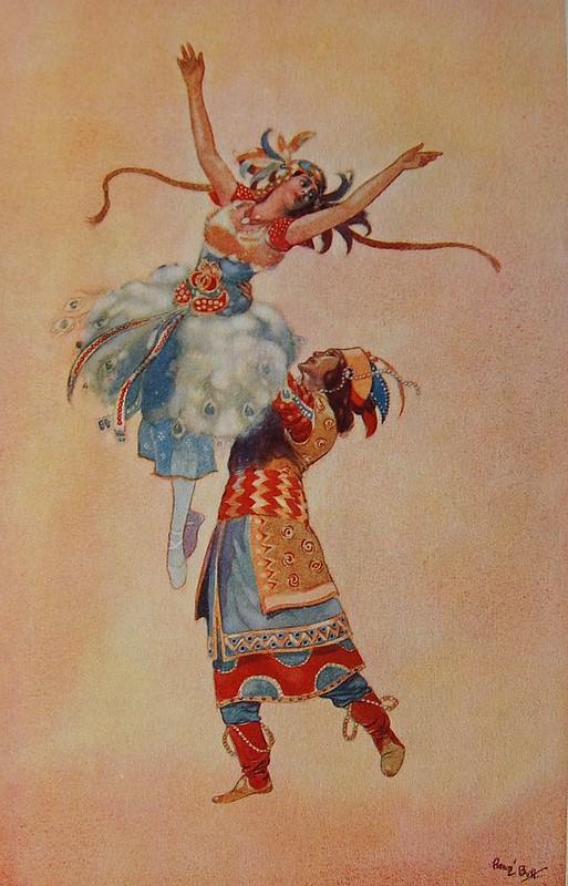 René Bull ballet L'Oiseau de Feu