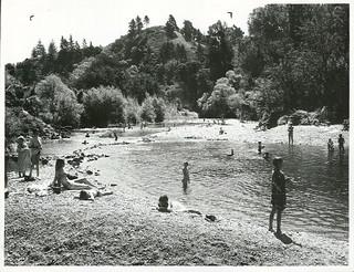 Swimming at Maitai Valley, Nelson