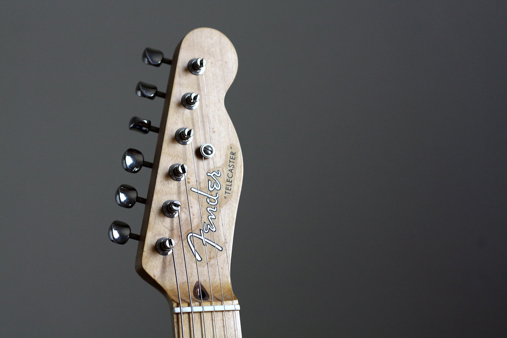 Fender Telecaster headstock | (Actually a Warmoth neck with … | Flickr