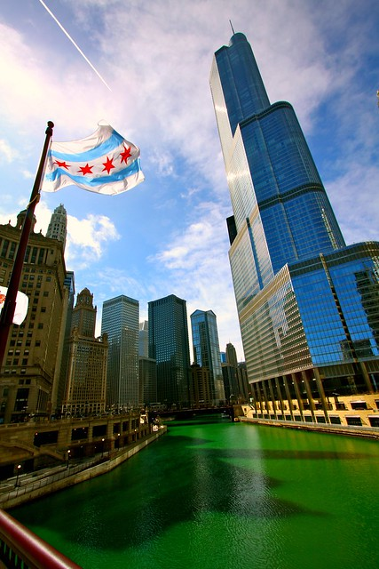 Happy St. Patrick's Day, Chicago!