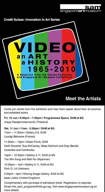 Video an Art a History 1965 - 2010