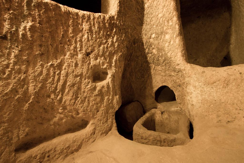 Derinkuyu -- underground caves