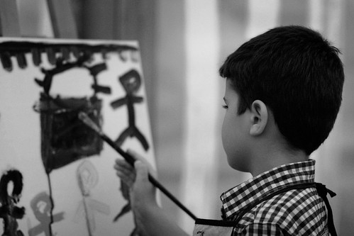 B&W Painter