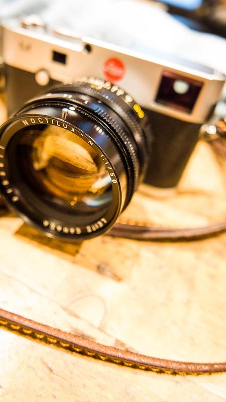 Leica M240 + Noctilux