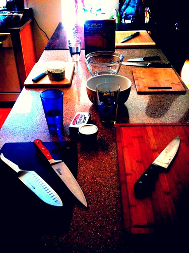 Knife Skills class, in potentia. | by urbanbohemian