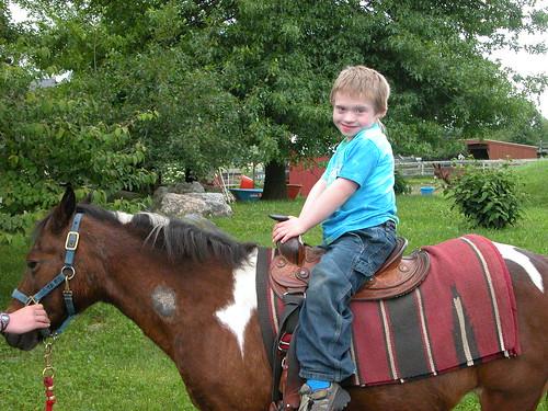Conor on Pony