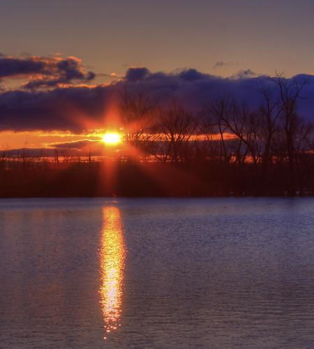 red lake clouds sunrise louisiana shreveport bidkhamdicksonpark