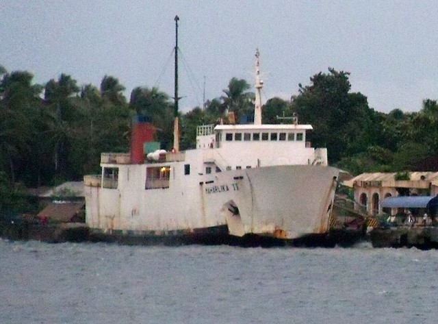 Maharlika II in Liloan port