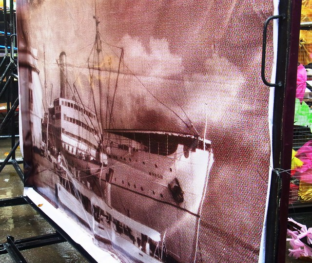 The ship Mayon used as Sinulog prop