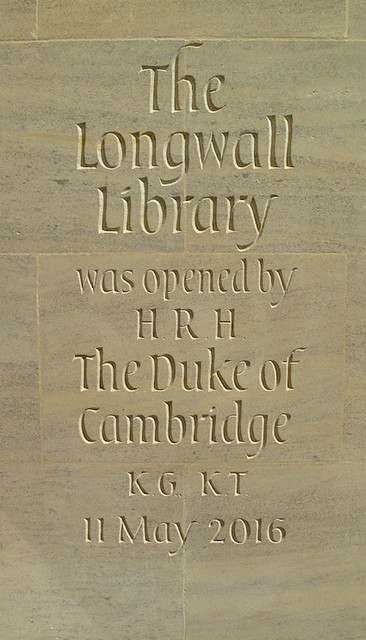 Opening inscription. Magdalen College Library, Oxford