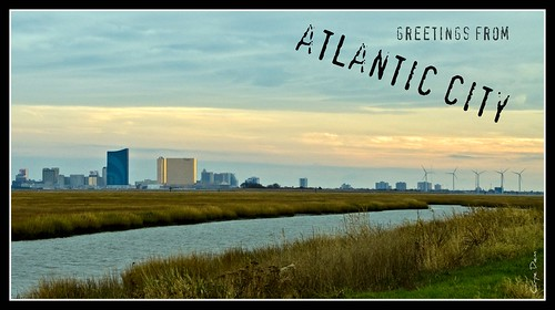 "Atlantic City Skyline (""Greetings from Atlantic City"") 