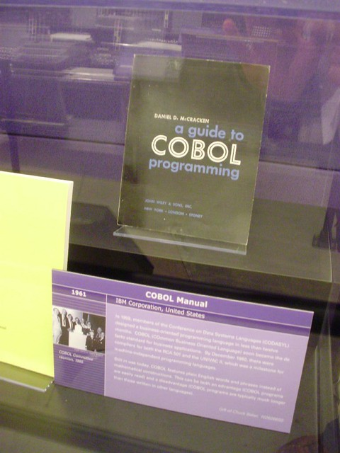 COBOL manual at Computer History Museum, Mountain View | Flickr