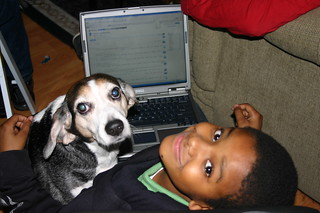 Computer Literacy Program - World Wide Web - Henry and Tyrek with Delicious