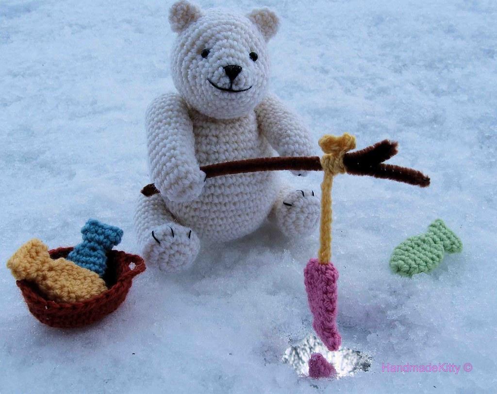 Crochet Polar Bear Amigurumi Free Pattern | 811x1024