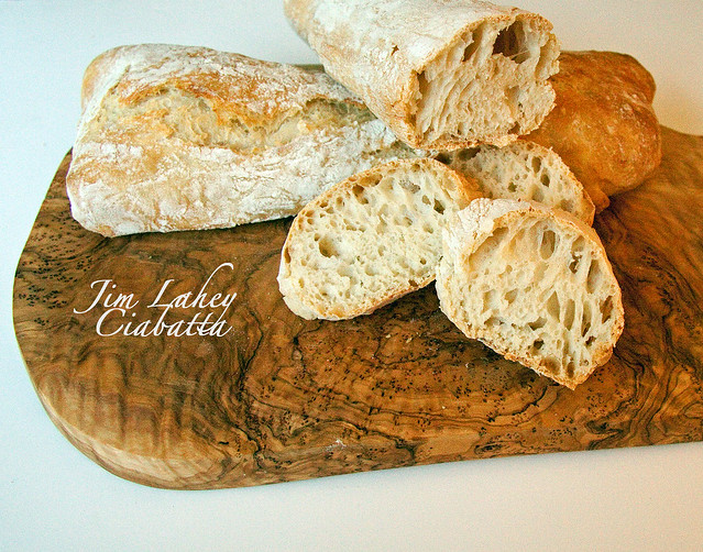 Georgina Ingham | Culinary Travels - Photograph Jim Lahey no knead ciabatta. The easiest ciabatta you will ever bake. Honestly you won't turn back
