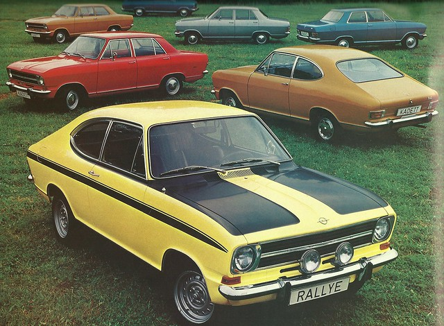Opel in the early seventies