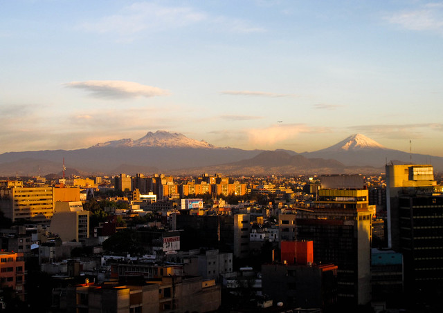 Late light, Mexico City