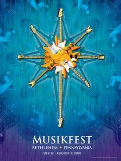 Musikfest 2009 poster