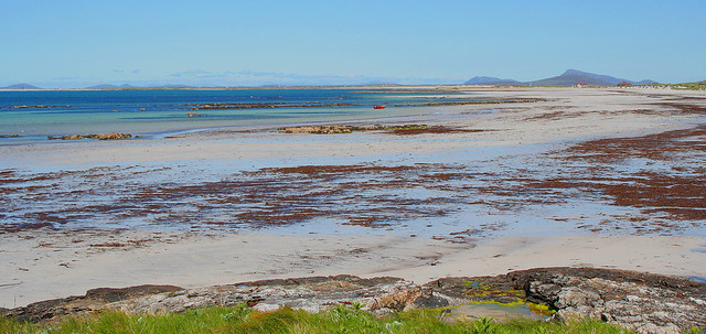 Benbecula & North Uist from South Uist