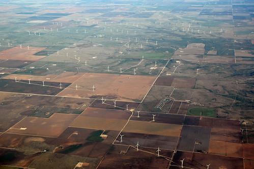 texas midland midlandcounty windmill aerial