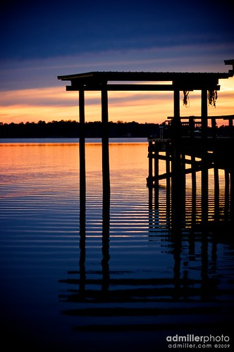 sunset water canon reflections evening bay dock florida 85mm eastbay ripples milton f18 goldenhour 40d