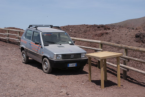 Panda 4x4 up Vesuvius