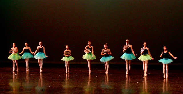 Delightful On-Stage Result of Pre-Pointe/Pointe Classes!!!