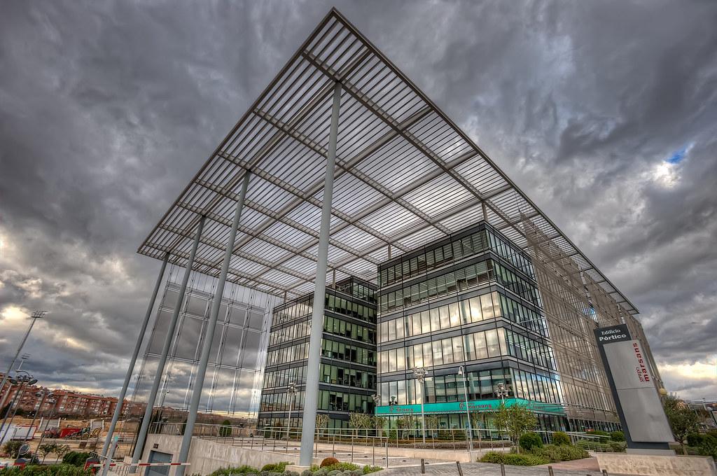 Portico Building - Edificio Pórtico, Madrid HDR