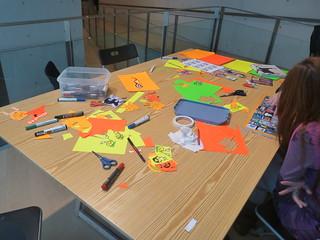 Workshop of stickers