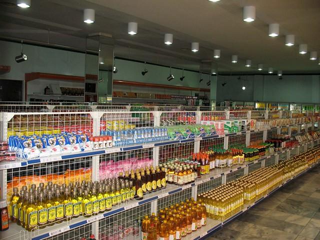 Supermarket in North Korea