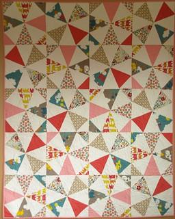 Break Dance quilt pattern