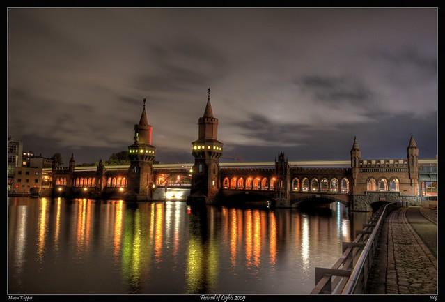 Festival of Lights - Oberbaumbrücke