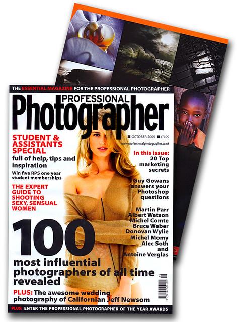 Professional Photographer Magazine - Light Waves
