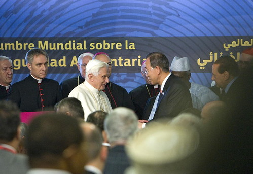 Secretary-General Meets Pope Benedict XVI in Rome | by United Nations Photo