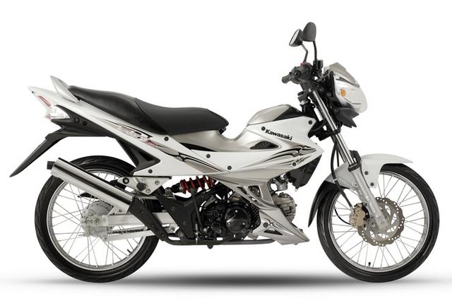 Kawasaki Fury 125 White