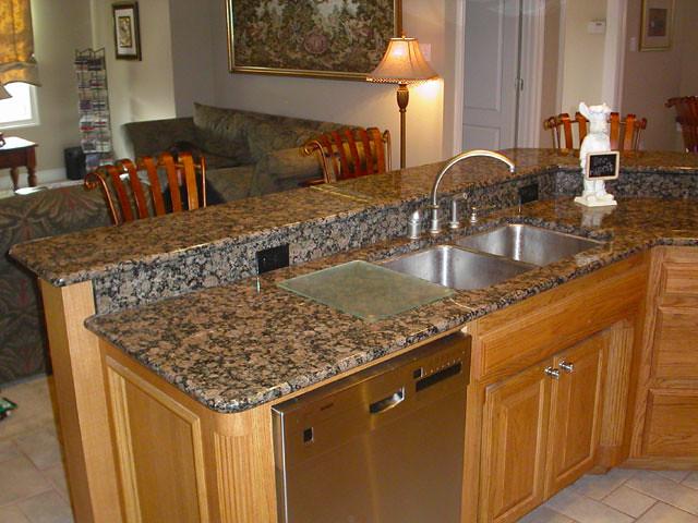 Baltic Brown Granite Countertops - Charlotte, NC | Remodelin ...