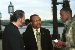 Miss World from Nigeria at Patti Boulaye Support for Africa event at the House of Commons London Nov 2001 014 Ministers Chris