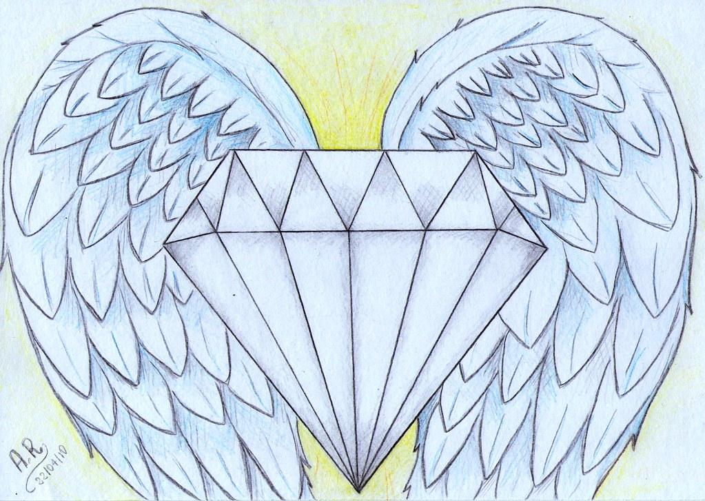 Diamante Com Asas Alicerosa Flickr