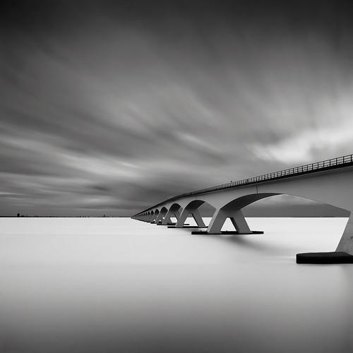 Bridge Study IV by Joel Tjintjelaar