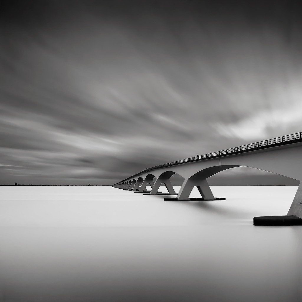 Bridge Study IV by Joel Tjintjelaar