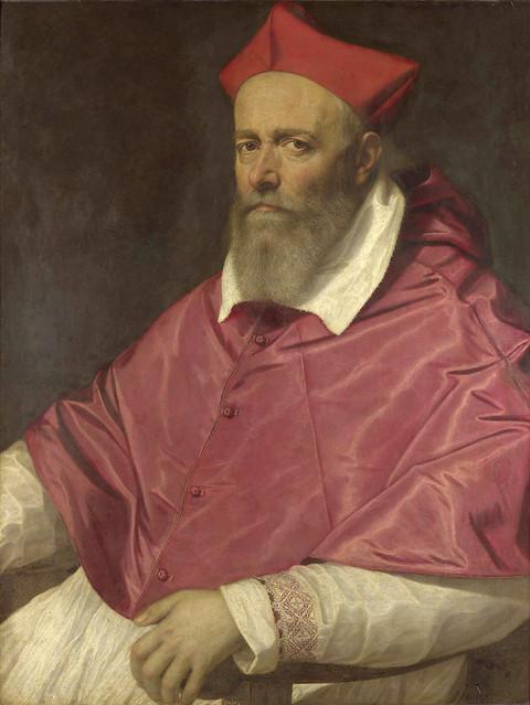 Scipione Pulzone: Portrait of a Cardinal (1596-98)