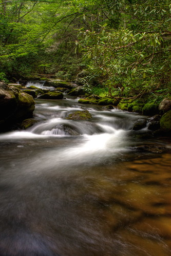 longexposure nc rocks whitewater stream northcarolina rhododendron hdr naturephotography smokymountainsnationalpark cataloocheevalley davidhopkinsphotography