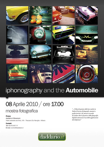 130 >Iphonography and the Automobile< | by Mauro Ballabeni