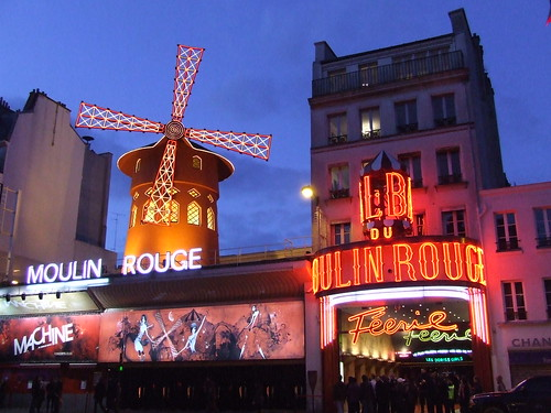 Moulin Rouge, Paris | by Piotr Rybałtowski
